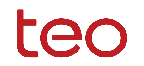 teo logo red on transparent