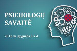 Psichologu savaite 2